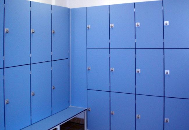 CABINA Garderobenschrank blau