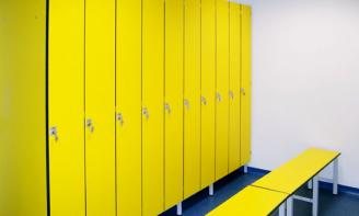 Garderobenschränke gelb