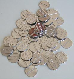 Wertmarken 21 mm